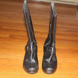 Dansko Calf Height Cowgirl Boots